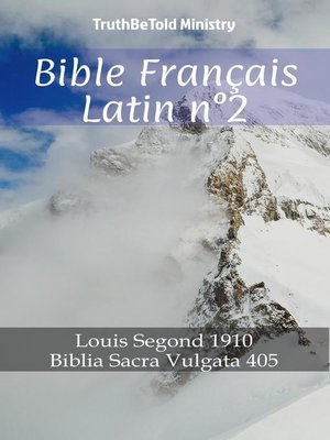 cover image of Bible Français Latin n°2