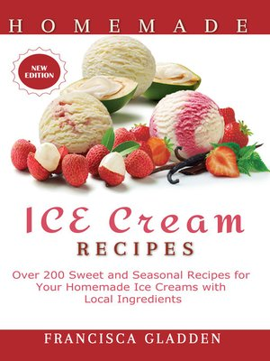 cover image of Homemade Ice Cream Recipes