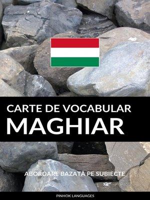cover image of Carte de Vocabular Maghiar