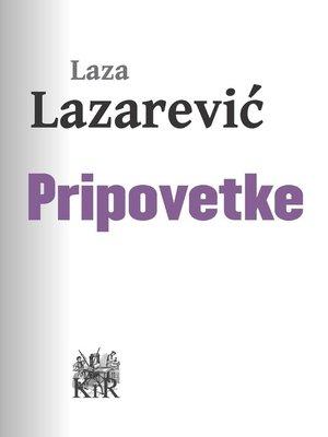 cover image of Pripovetke