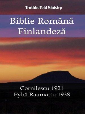 cover image of Biblie Română Finlandeză
