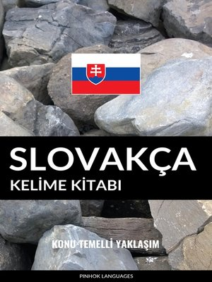 cover image of Slovakça Kelime Kitabı