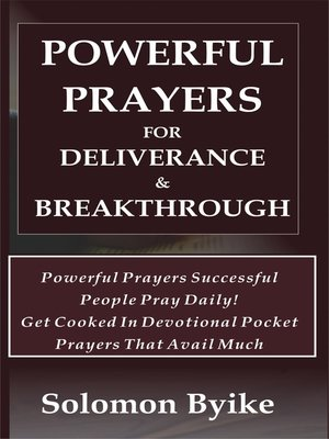 cover image of Powerful Prayers for Deliverance & Breakthrough