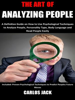 cover image of The Art of Analyzing People