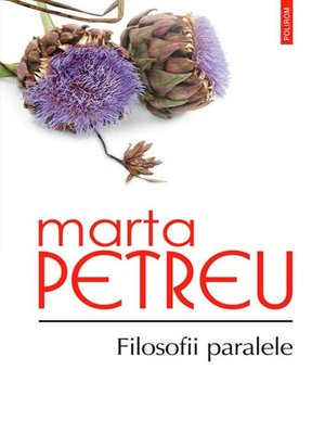 cover image of Filosofii paralele