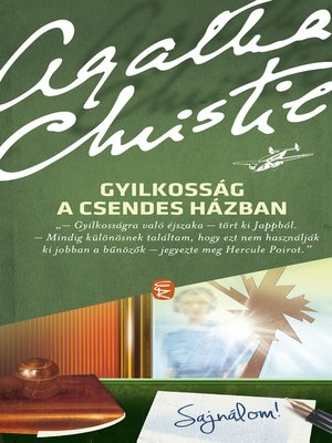 cover image of Gyilkosság a csendes házban