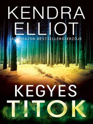 cover image of Kegyes titok