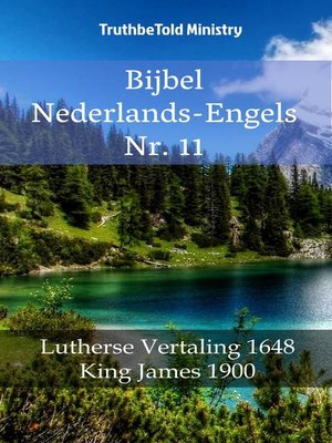 cover image of Bijbel Nederlands-Engels Nr. 11