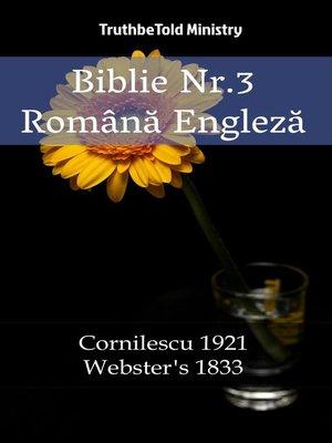 cover image of Biblie Nr.3 Română Engleză