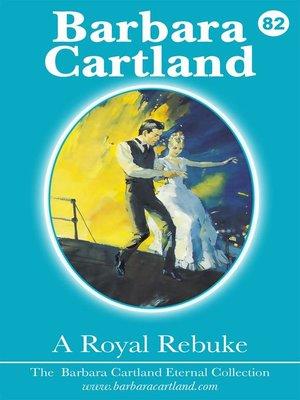 cover image of A Royal Rebuke