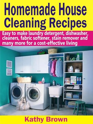 cover image of Homemade House Cleaning Recipes