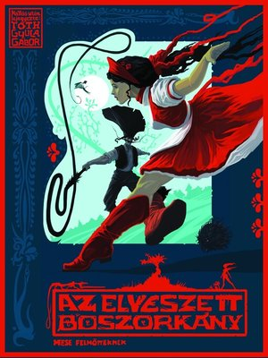 cover image of Az elveszett boszorkány