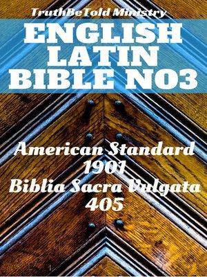 cover image of English Latin Bible No3