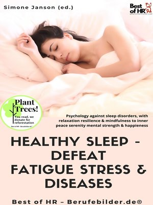 cover image of Healthy Sleep-- Defeat Fatigue Stress & Diseases