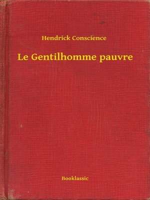 cover image of Le Gentilhomme pauvre