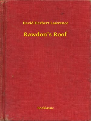 cover image of Rawdon's Roof