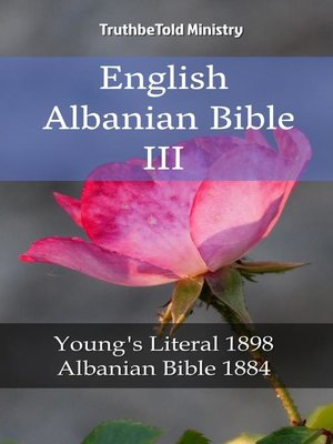 cover image of English Albanian Bible III