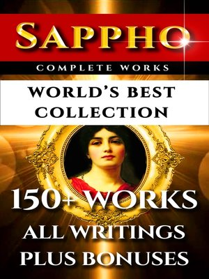 cover image of Sappho Complete Works – World's Best Collection