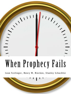 cover image of When Prophecy Fails