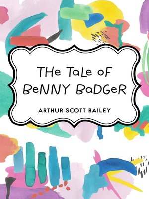 cover image of The Tale of Benny Badger