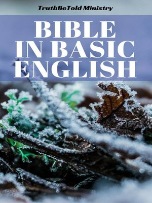 cover image of Bible in Basic English