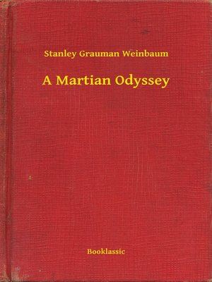 cover image of A Martian Odyssey