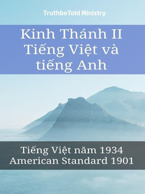 cover image of Tiếng Việt Anh Kinh Thánh II