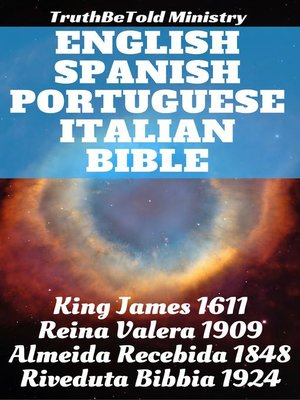cover image of English Spanish Portuguese Italian Bible