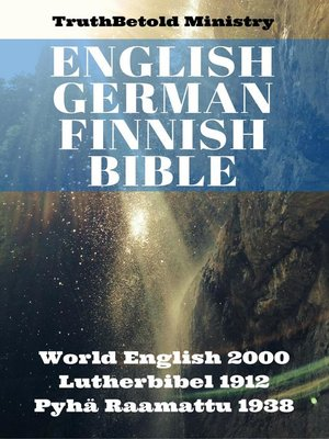cover image of English German Finnish Bible