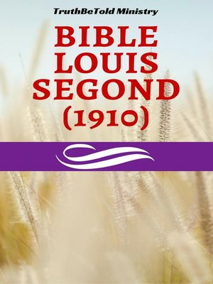 cover image of Bible Louis Segond (1910)