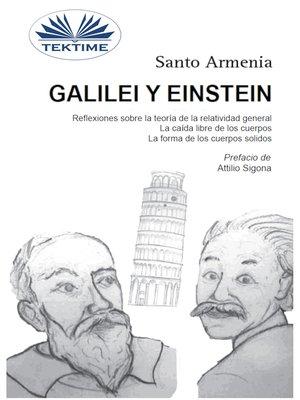 cover image of Galilei Y Einstein