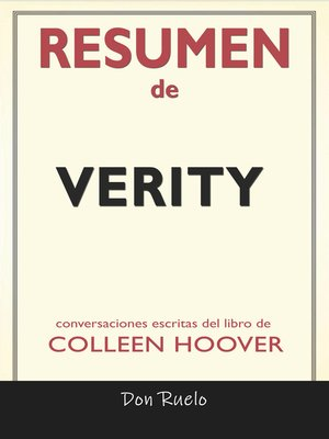 cover image of Resumen de Verity