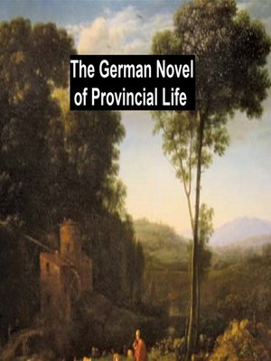 cover image of The German Novel of Provincial Life