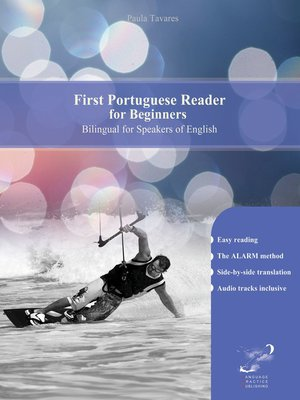 cover image of First Portuguese Reader for Beginners