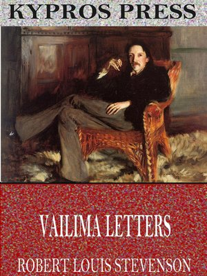 cover image of Vailima Letters