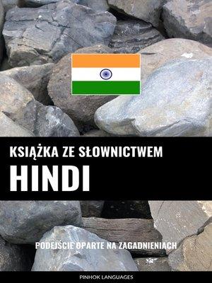 cover image of Książka ze słownictwem hindi