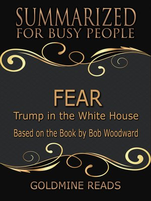 cover image of Fear - Summarized for Busy People