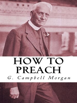 cover image of How to Preach