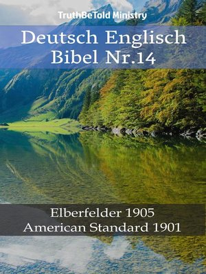 cover image of Deutsch Englisch Bibel Nr.14