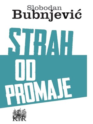 cover image of Strah od promaje