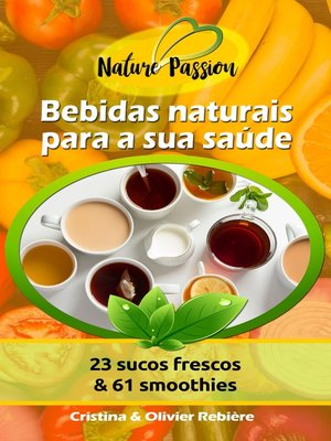cover image of Bebidas naturais para a sua saúde