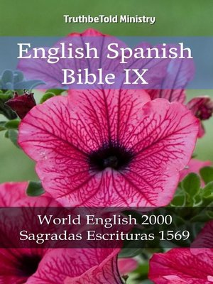 cover image of English Spanish Bible IX