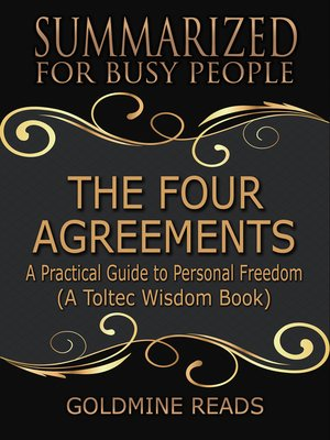 cover image of The Four Agreements - Summarized for Busy People