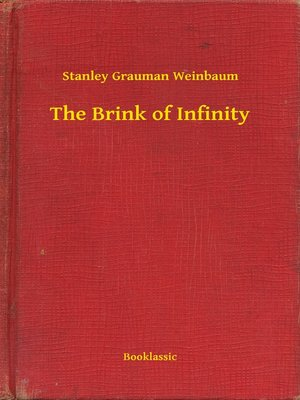 cover image of The Brink of Infinity