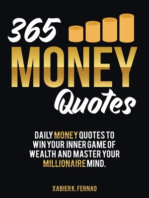 cover image of 365 Money Quotes