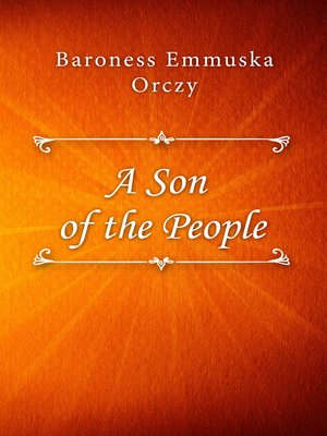 cover image of A Son of the People