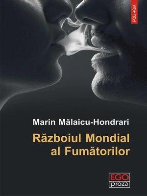 cover image of Războiul Mondial al Fumătorilor