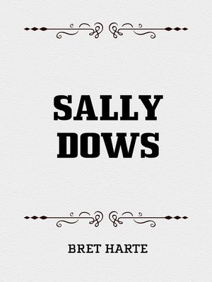 cover image of Sally Dows