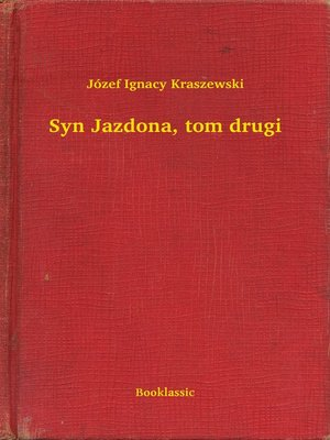 cover image of Syn Jazdona, tom drugi