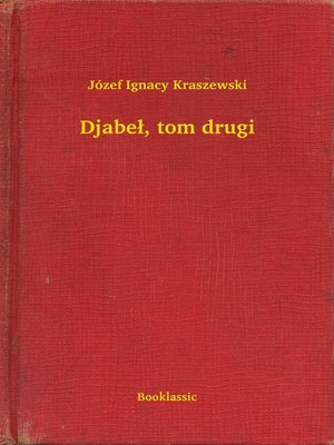 cover image of Djabeł, tom drugi